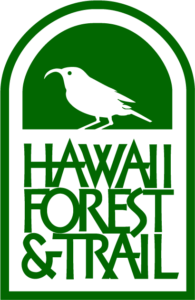 Hawaii Forest and Trail logo green