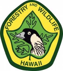 Department of Forestry and Wildlife Hawaii logo